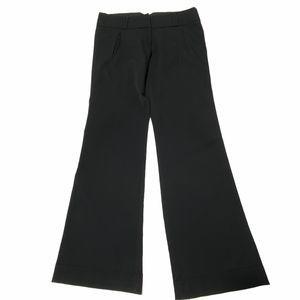 Charlotte Russe Black Flare Leg Dress Pants 9
